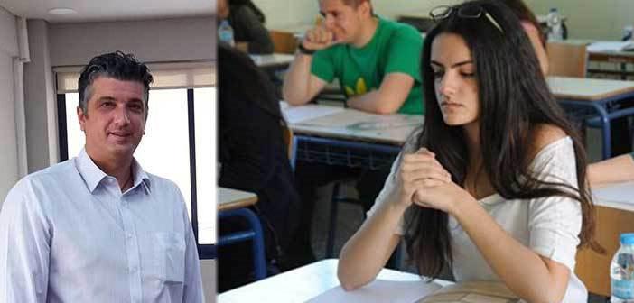 Μήνυμα δημάρχου Βριλησσίων προς τους μαθητές που δίνουν Πανελλαδικές