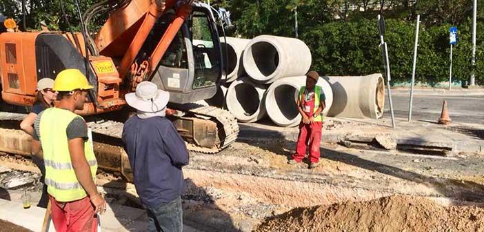 Στα Πευκάκια συνεχίζεται το μεγάλο αντιπλημμυρικό έργο στον Δήμο Αγ. Παρασκευής