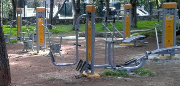 Τοποθέτηση υπαίθριων οργάνων γυμναστικής σε Άι Γιάννη & Κοντόπευκο