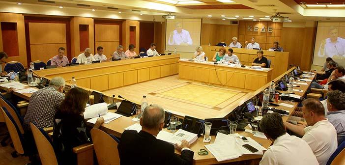 Ονομαστική ψηφοφορία στη Βουλή για τον «Κλεισθένη Ι» ζητεί η ΚΕΔΕ