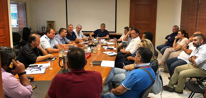Συνεδρίαση του Συντονιστικού Οργάνου Πολιτικής Προστασίας Δήμου Αμαρουσίου