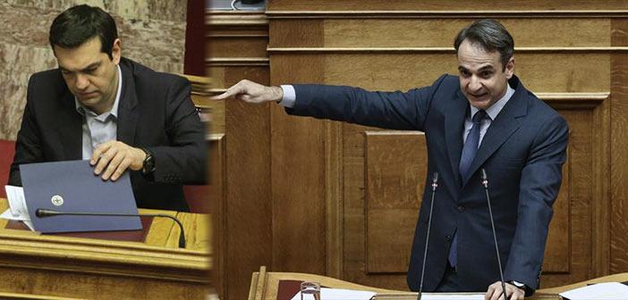 Κυρ. Μητσοτάκης: Πρωθυπουργός υπό προθεσμία ο Αλ. Τσίπρας