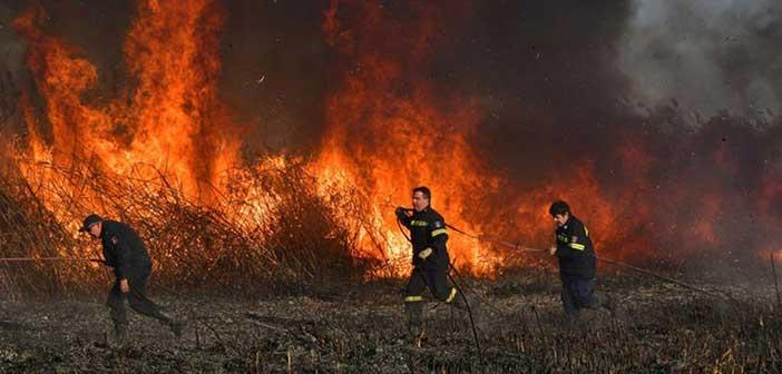 Πολύ υψηλός ο κίνδυνος πυρκαγιάς για σήμερα Δευτέρα