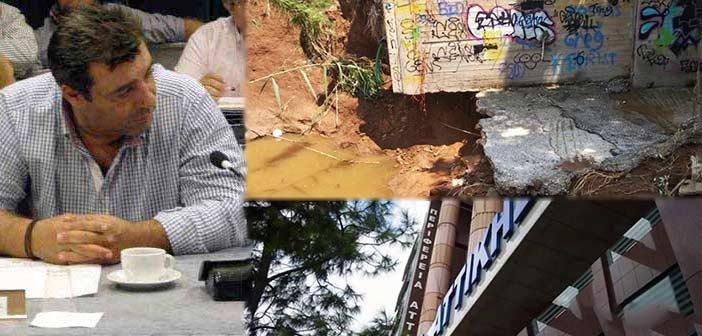Β. Κόκκαλης: Η Περιφέρεια Αττικής προσπαθεί να μεταθέσει τις ευθύνες της για τις πλημμύρες