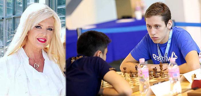 Συγχαρητήρια Μ. Πατούλη-Σταυράκη στον Ευγ. Ιωαννίδη για την πρωτιά στο Πανευρωπαϊκό Σκακιστικό Πρωτάθλημα Νέων