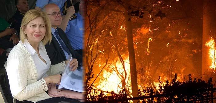 Ι. Τσούπρα: Ούτε η Περιφέρεια ούτε οι δήμοι έλαβαν εισήγηση ή εντολή εκκένωσης