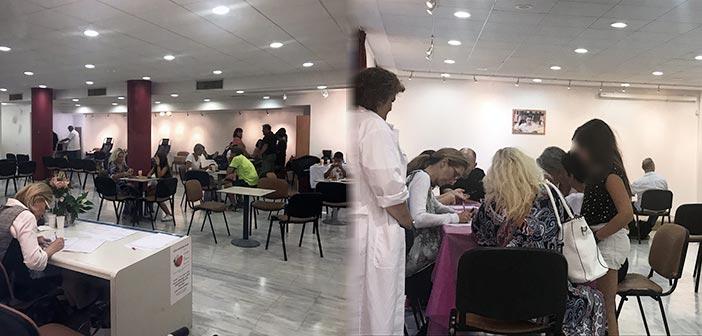 Προσέλευση ρεκόρ των εθελοντών αιμοδοτών στην αιμοδοσία του Δήμου Λυκόβρυσης – Πεύκης