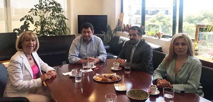Συνάντηση Τ. Μαυρίδη με σύμβουλο της πρεσβείας του Ιράν για θέματα Πολιτισμού