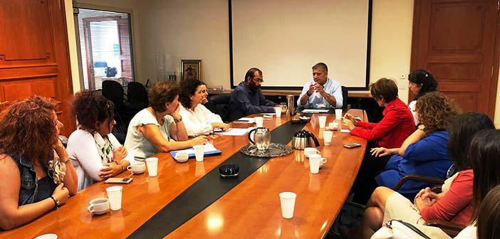 Συνάντηση Γ. Πατούλη με το διοικητικό προσωπικό των 11 Παιδικών Σταθμών
