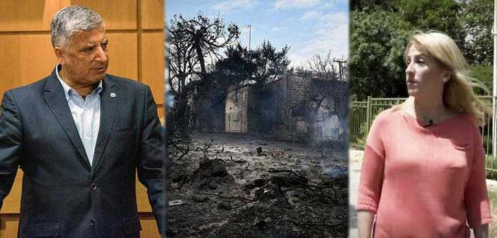 Γ. Πατούλης: Στο Μάτι η κ. Δούρου, αφού «έτυχε στη βάρδια» της να επισκεφθεί ο πρωθυπουργός την περιοχή