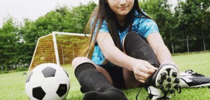 Ομάδα κοριτσιών στις Ακαδημίες Ποδοσφαίρου Δήμου Ηρακλείου Αττικής