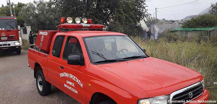 Άμεση επέμβαση και διαρκής επιφυλακή από την Πολιτική Προστασία Δήμου Βριλησσίων