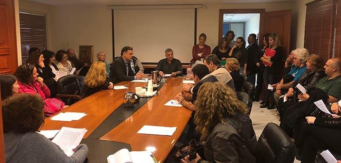 Με 26 συμβασιούχους του προγράμματος κοινωφελούς εργασίας ενισχύονται οι υπηρεσίες του Δήμου Αμαρουσίου