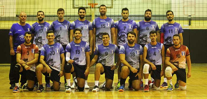 Ξεκίνησε στο πρωτάθλημα ανδρικού βόλεϊ η ομάδα του Α.Σ. Παπάγου