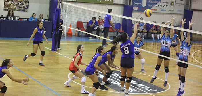 Ομάδα βόλεϊ γυναικών Α.Σ. Παπάγου: Πρεμιέρα με νίκη στο πρωτάθλημα Β΄ Εθνικής