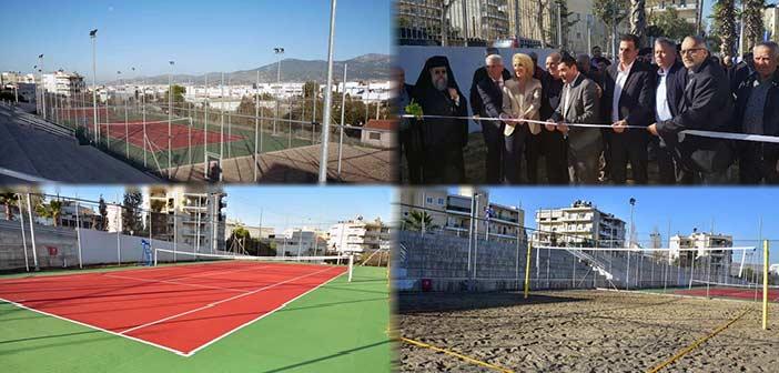 Εγκαίνια νέων εγκαταστάσεων Διαδημοτικού Αθλητικού Κέντρου των Δήμων Μεταμόρφωσης και Λυκόβρυσης – Πεύκης