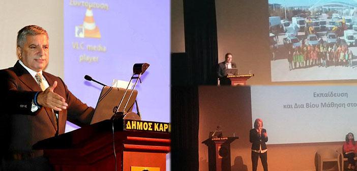 Καλές πρακτικές του Δήμου Αμαρουσίου παρουσιάστηκαν σε συνέδριο για τους ΟΤΑ μετά τον «Κλεισθένη»