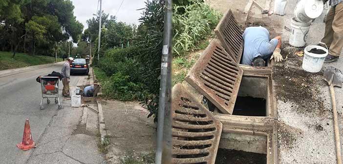 Συνεχίζονται οι καθαρισμοί φρεατίων στον Δήμο Λυκόβρυσης – Πεύκης
