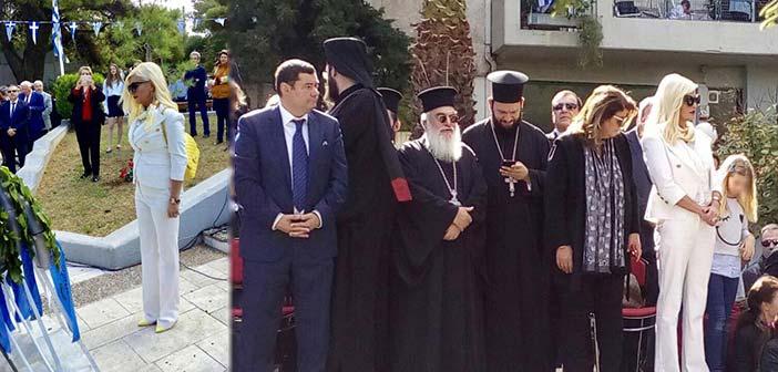 Στον εορτασμό της επετείου του «ΟΧΙ» στον Δήμο Λυκόβρυσης – Πεύκης η Μ. Πατούλη-Σταυράκη
