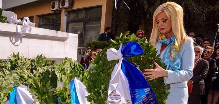 Μ. Πατούλη-Σταυράκη: Να «χτίσουμε» ξανά τη δυναμική που κάθε Έλληνας κρύβει μέσα του
