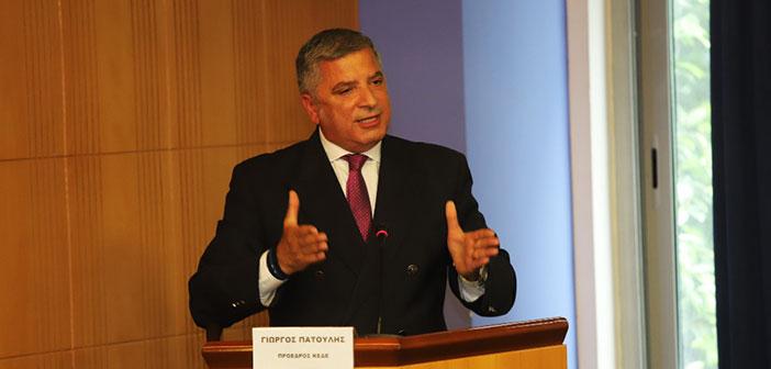 Γ. Πατούλης: Προτεραιότητά μας η ασφάλεια και αναβάθμιση της ποιότητας της ζωής των πολιτών