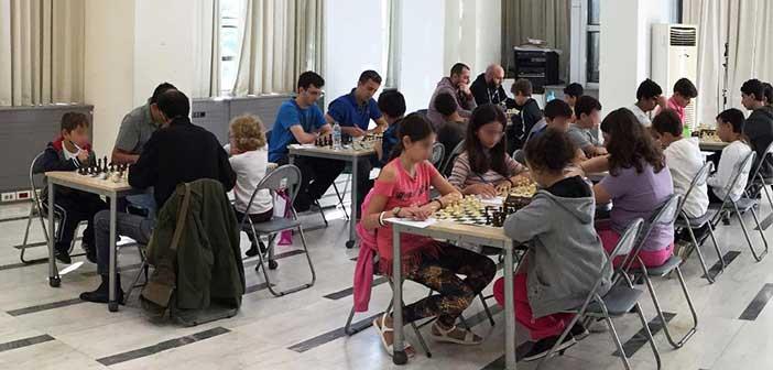 Στο δημαρχείο Αμαρουσίου διεξήχθη η 2η αγωνιστική του Κυπέλλου Σκάκι «Σπύρος Μπίκος 2018»