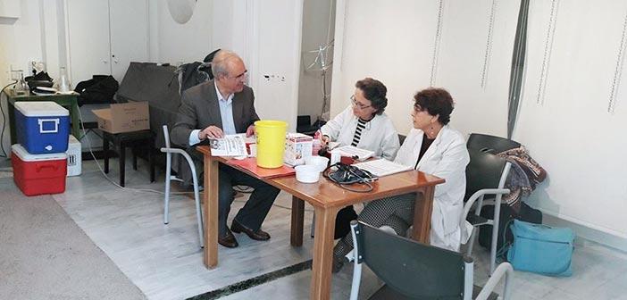 70 εθελοντές έλαβαν μέρος στην εθελοντική αιμοδοσία της Κοινωνικής Μέριμνας Δήμου Κηφισιάς