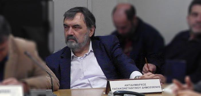 Δ. Παπακωνσταντίνου: Αρνούμαστε να νομιμοποιήσουμε τη συνεχή ιδιωτικοποίηση των δημόσιων υπηρεσιών του Δήμου Πεντέλης