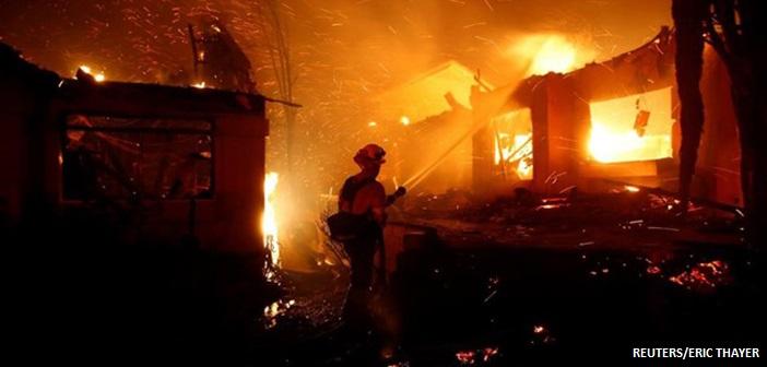 ΗΠΑ: Τουλάχιστον εννέα νεκροί από την πυρκαγιά στη Βόρεια Καλιφόρνια