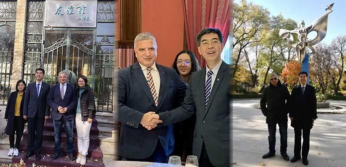 Το Σύμφωνο Συνεργασίας Ελλάδας – Κίνας επισφράγισαν Γ. Πατούλης και L. Hongwei