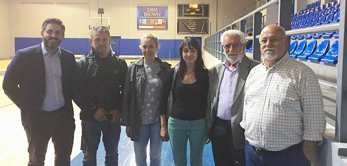 Συμπολιτεία: Συνάντηση της επικεφαλής Δ. Κεχαγιά με την Α.Ε. Πεντέλης