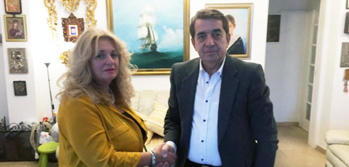 Συνεργασία της Μαρίας Λεβέντη με τη δημοτική παράταξη του Κώστα Τίγκα