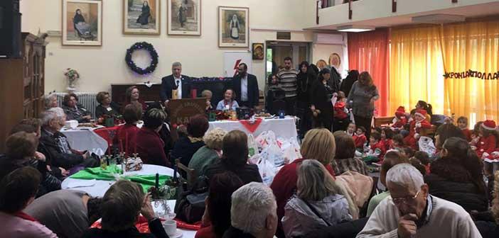 Τρόφιμα συγκεντρώθηκαν για τους ευπαθείς πολίτες του Δήμου Αμαρουσίου
