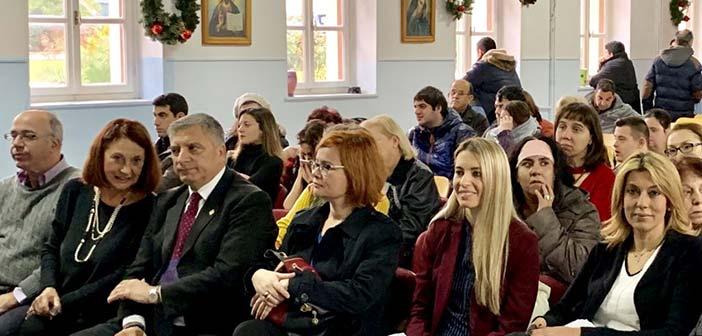 Στη χριστουγεννιάτικη γιορτή του Σικαριδείου Ιδρύματος ο δήμαρχος Αμαρουσίου