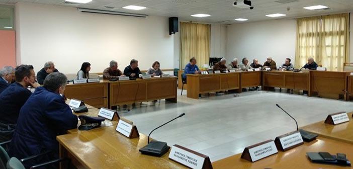 Ο πρόεδρος του ΣΠΑΠ στην έκτακτη σύσκεψη Πολιτικής Προστασίας Δήμου Πεντέλης