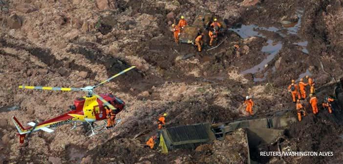 Βραζιλία: 84 οι νεκροί από την κατάρρευση του φράγματος