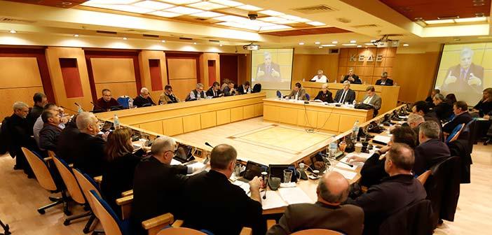 Συνεδρίαση Δ.Σ. ΚΕΔΕ παρουσία του υπουργού Εσωτερικών