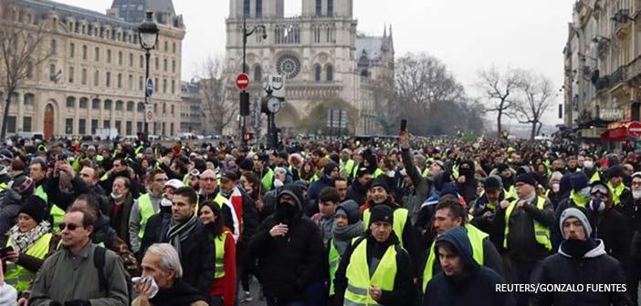 Λονδίνο: Ετοιμάζονται τα βρετανικά «κίτρινα γιλέκα»