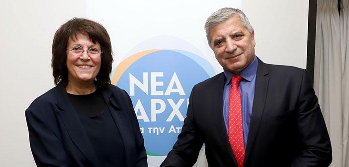 Η Β. Σπηλιωτοπούλου υποψήφια περιφερειακή σύμβουλος με τον Γ. Πατούλη