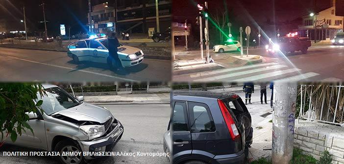 Δύο τροχαία σε λιγότερο από 12 ώρες στα Βριλήσσια – Ένας σοβαρά τραυματίας