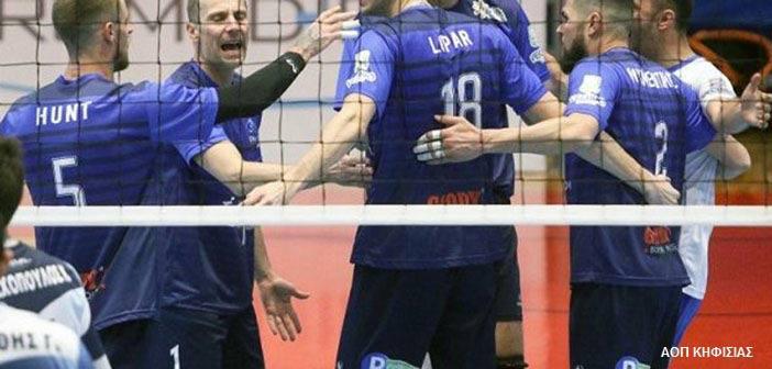 Η Κηφισιά κέρδισε 3-1 σετ τον Εθνικό και… πάτησε «εξάδα» στη Volley League
