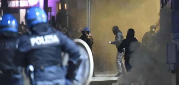 Εκτεταμένα επεισόδια και συγκρούσεις αναρχικών με την αστυνομία στην Ιταλία