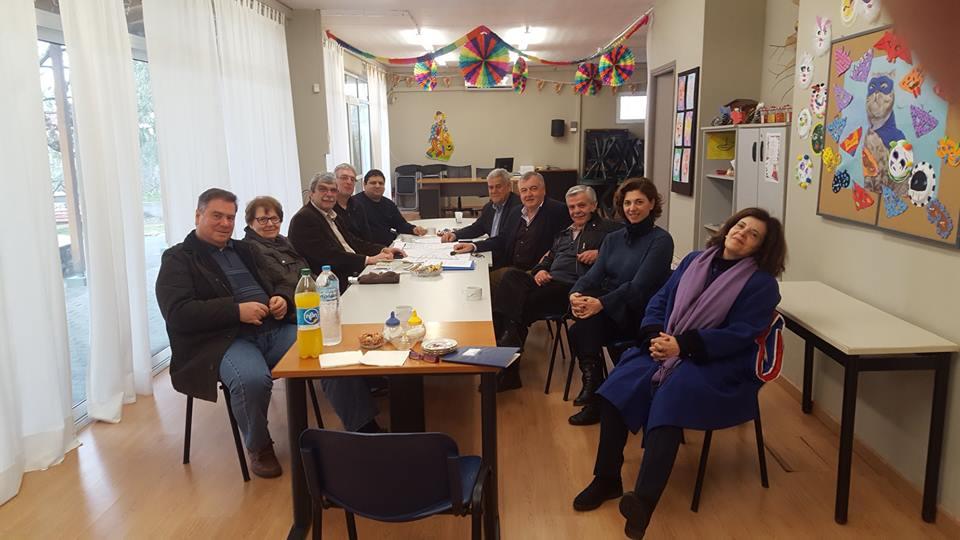 Συνάντηση της Ενότητας με τον Σύλλογο Ψαλιδίου Αμαρουσίου