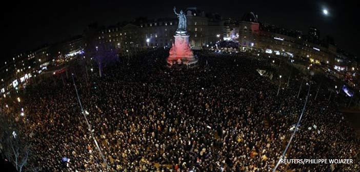 Γαλλία: Μαζικές διαδηλώσεις κατά του αντισημιτισμού