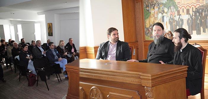 Συνάντηση Γ. Παπαδημητρίου με τον μητροπολίτη Ιωνίας – Φιλαδελφείας, Ηρακλείου & Χαλκηδόνος