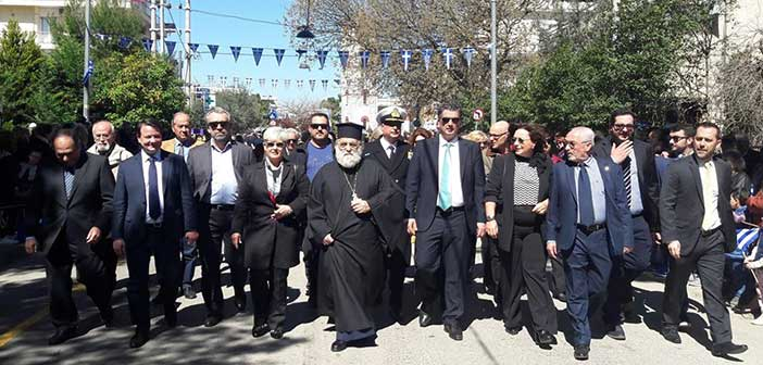 Με τη δέουσα λαμπρότητα ο εορτασμός της 25ης Μαρτίου στα Βριλήσσια