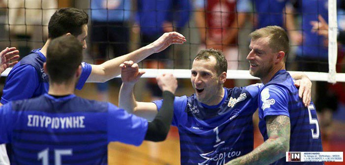 Volley League: Ήττα στη Θεσσαλονίκη από τον ΠΑΟΚ για την Κηφισιά με 3-0