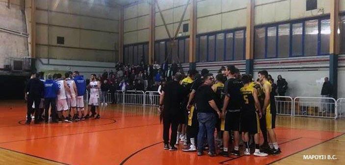 Α2 μπάσκετ Ανδρών: Πέρασε άνετα από τον Πειραιά το Μαρούσι