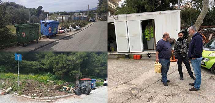 Μπροστά Μαζί: Κακό το επίπεδο καθαριότητας στον Δήμο Πεντέλης