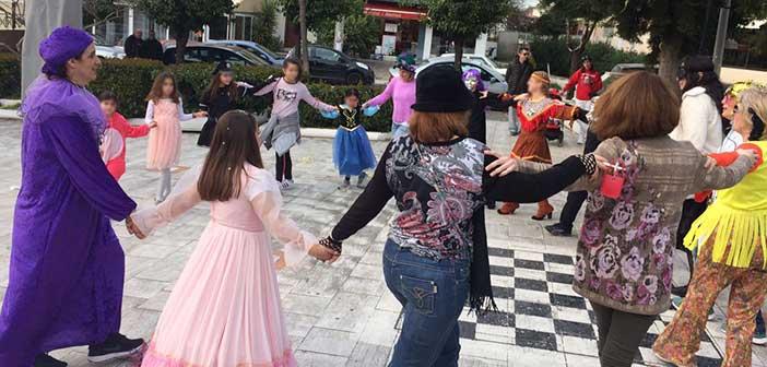Η Κίνηση Πολιτών Λυκόβρυσης… φέρνει την Αποκριά στους δρόμους της πόλης